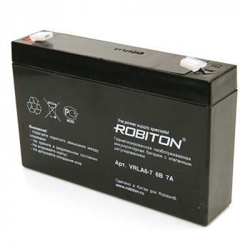 Аккумулятор ROBITON VRLA6-7.0
