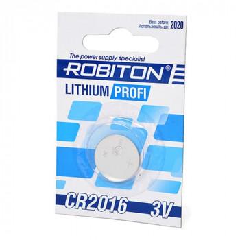 Элемент питания Robiton Profi R-CR2016