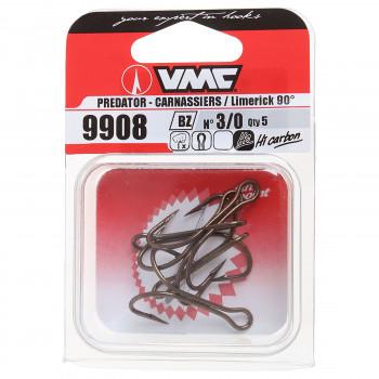 Крючки VMC 9908 BZ (бронза)