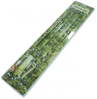 Набор шампуров BOYSCOUT плоских 60 см, 6 шт в блистере