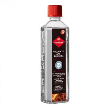 Жидкость FORESTER для розжига угля (парафин) 0,5л.