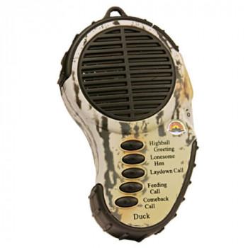 Звуковой имитатор Cass Creek на утку компактный,5 звуков,3хААА,136гр